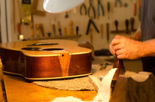楽器の修理